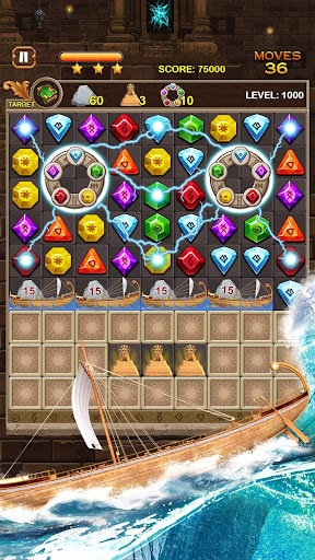 Jewel Ancient: find treasure in Pyramid 2.6.2 screenshots 11