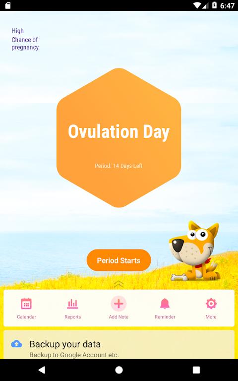 Period Tracker, Ovulation Calendar & Fertility app  poster 8