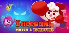 Sheepong : Match-3 Adventureのおすすめ画像1