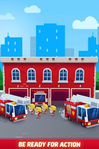 Idle Firefighter Tycoon APK , Fire Emergency Manager APK Download 3