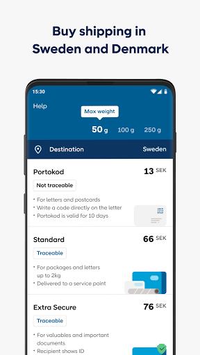 PostNord - Track and send parcels apktram screenshots 5