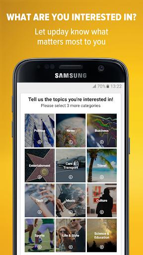 upday for Samsung 3.0.14225 APK screenshots 2