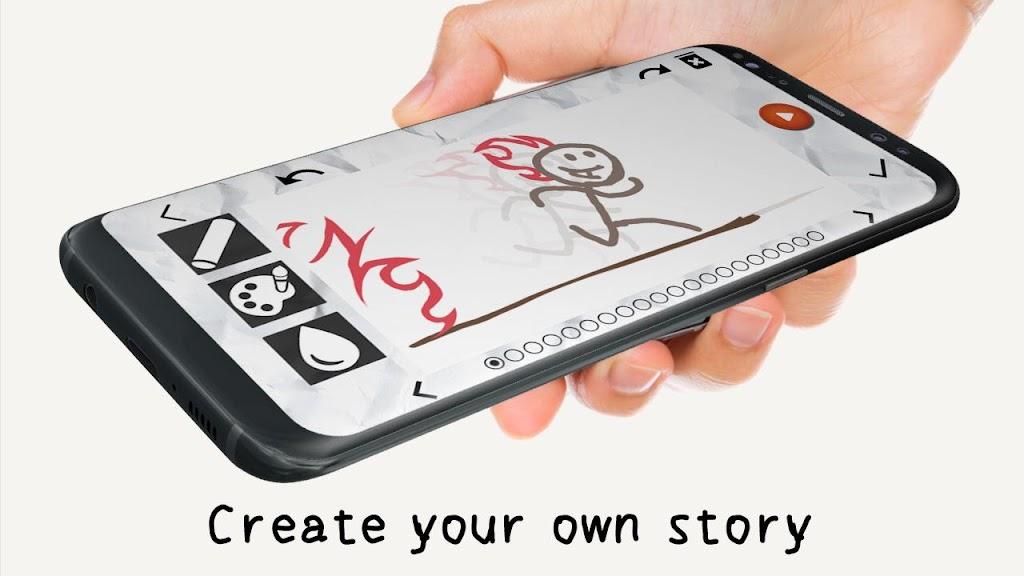 Stickman: draw animation, creator & maker, drawing  poster 10