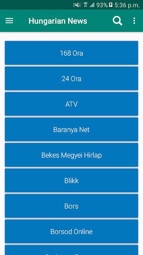 Hungary Newspapers App | Hungary News App 7.5 screenshots 6