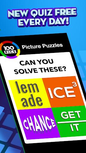 100 PICS Quiz - Guess Trivia, Logo & Picture Games Apkfinish screenshots 3