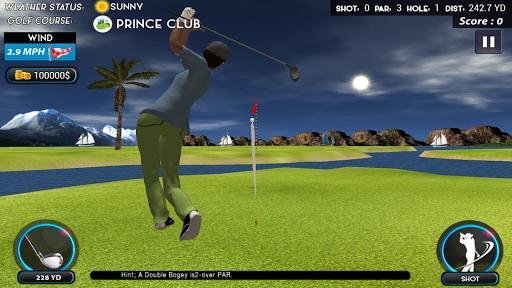 Real Star Golf Master 3D apkpoly screenshots 1