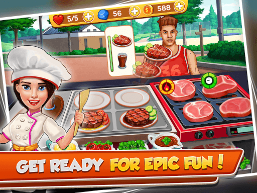 cooking crush - madness crazy chef cooking games screenshot 3