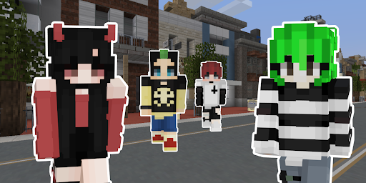 Emo Skins for Minecraft PE hack tool