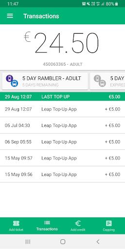 Leap Top-up 0.1.77 Screenshots 3