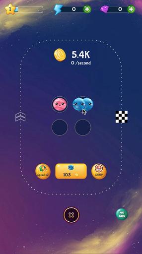 merge planets space : hyper casual game screenshot 1