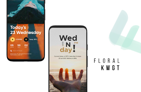 Floral Kwgt APK (PAID) Download for Android 4