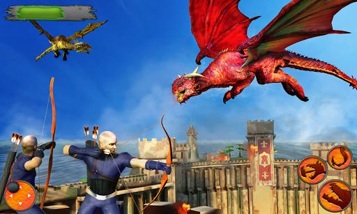 Flying Dragon Battle Simulator : City Attack  screenshots 4