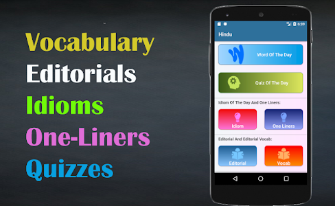 Hindu Vocab App: Daily Editorial & Vocabulary hindu.06Sept