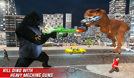 Monster Dino Vs King Kong-City Rampage Simulator 1.0.3 screenshots 21