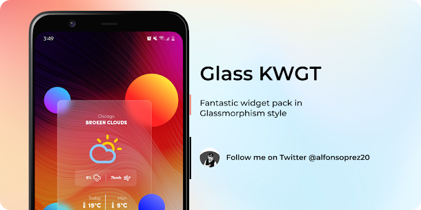 Glass for KWGT v1.0 [Paid] 4