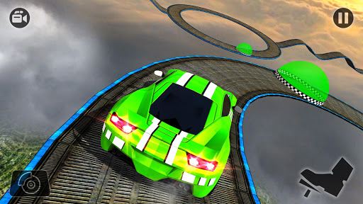 Impossible Stunt Car Tracks 3D modavailable screenshots 8