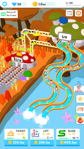 Idle Water Slide 1.7.7 screenshots 5