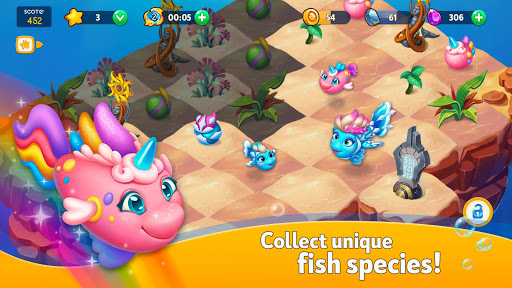 Sea Merge! Fish Aquarium Game & Ocean Puzzle  screenshots 5