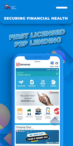 Danamas P2P – Pinjaman Dana Online Cepat