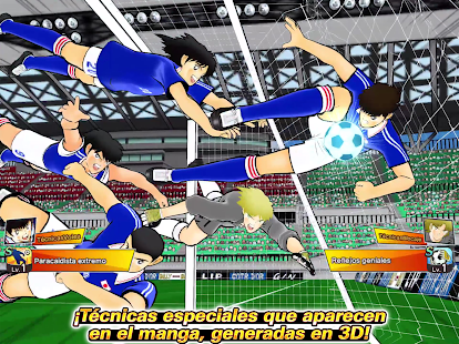Captain Tsubasa (Oliver y Benji): Dream Team Screenshot