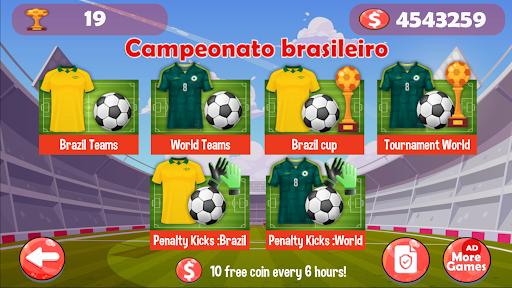 Campeonato brasileiro : Futebol de Botu00e3o u26bd apkpoly screenshots 1