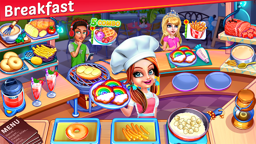 Cooking Express : Food Fever Cooking Chef Games APK MOD – ressources Illimitées (Astuce) screenshots hack proof 2