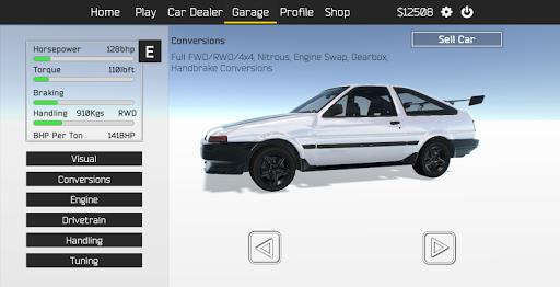Tuner Z - Car Tuning and Racing Simulator modavailable screenshots 1
