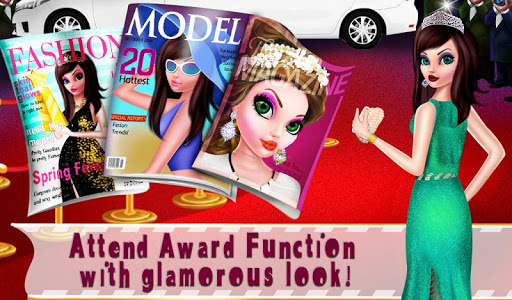 Code Triche Rising Superstar Life : Girl's Dream Story Game (Astuce) APK MOD screenshots 2