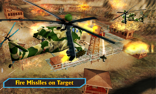 Gunship Helicopter Air War Strike android2mod screenshots 4