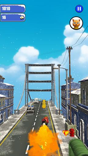Leo Cat Ice Run - Frozen City screenshots 4