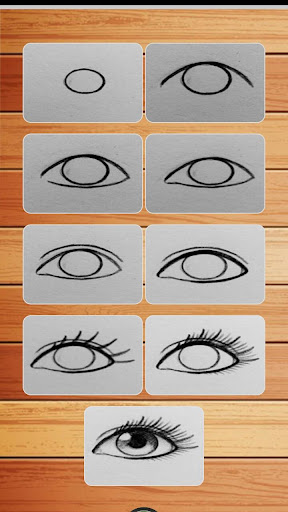 How to Draw Eyes Step by Step  Screenshots 6