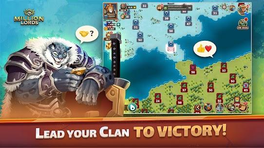 Million Lords: MMO de estrategia en tiempo real. 2