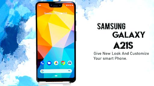 Samsung Galaxy A21s Launcher: Themes & Wallpapers screenshots 2