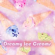 Cute Wallpaper Dreamy Ice Creams Theme