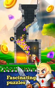 Knight Rescue - Pull The Pin Hero Puzzle