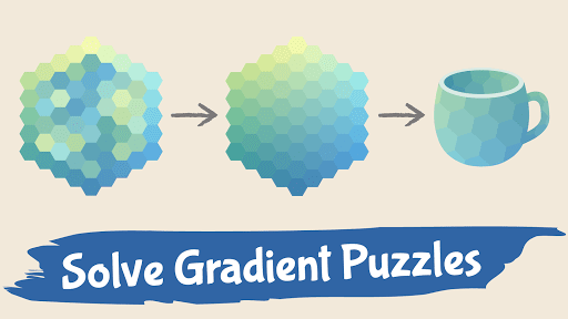 Color Gallery - Gradient Hue Puzzle Offline Games 1.1.1 screenshots 1