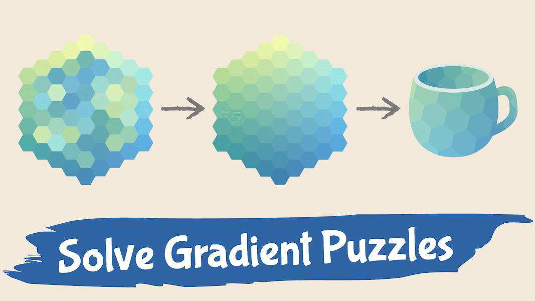 Color Gallery - Gradient Hue Puzzle Offline Games