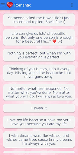Love Status - Love Messages screenshots 3
