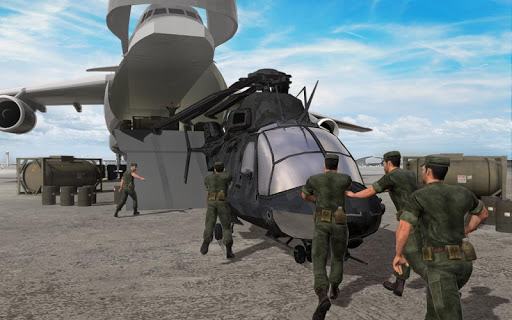 Army Helicopter Transporter Pilot Simulator 3D  screenshots 9