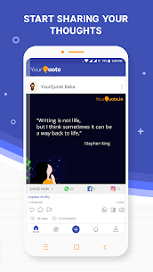 YourQuote—Write, Publish, Get Popular & Make Money 3
