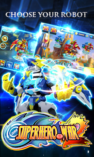 Superhero War: Robot Fight - City Action RPG 3.0 screenshots 5