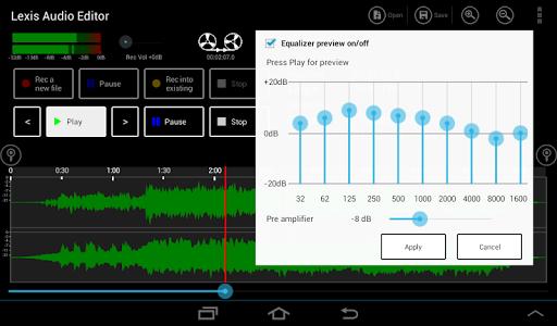 Lexis Audio Editor 1.1.105 Screenshots 8
