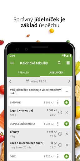 Kaloricku00e9 Tabulky u2013 hubnutu00ed a pou010du00edtu00e1nu00ed kaloriu00ed android2mod screenshots 4