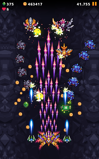 Galaxy Shooter : Falcon Squad Premium Varies with device screenshots 17