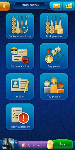 Backgammon LiveGames - live free online game 4.01 screenshots 1
