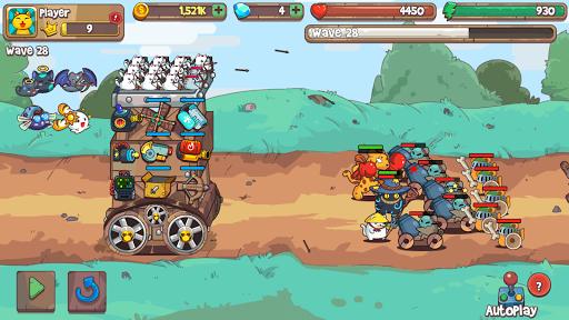 Cat'n'Robot: Idle Defense - Cute Castle TD PVP 3.2.1 Screenshots 10