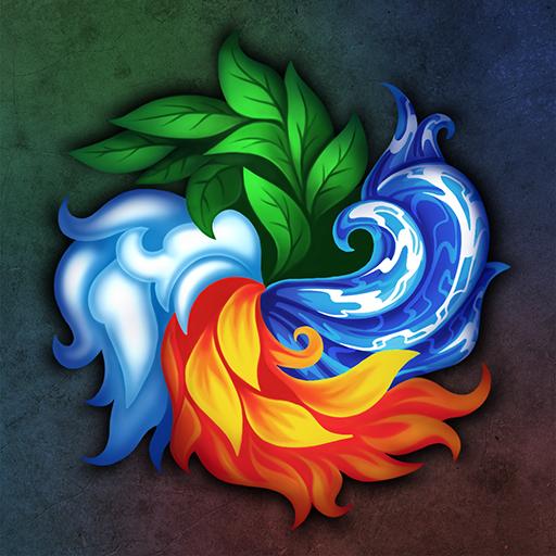 Mistrzowie Żywiołaków-CCG RPG Gra karciana