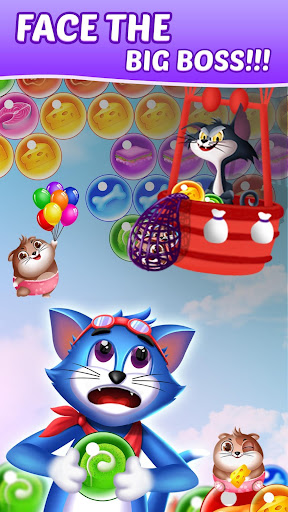 Tomcat Pop: New Bubble Shooter screenshots 3