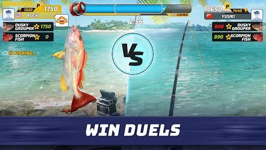 تحميل لعبة صيد السمك Fishing Clash للاندرويد احدث اصدار 2