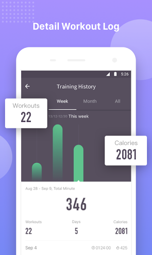 Keep Trainer - Workout Trainer & Fitness Coach 1.29.2 Screenshots 7